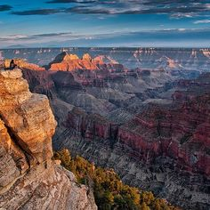 """It's #NationalTrailsDay, and we can't think of a better way to celebrate than with a stunning photo from #GrandCanyon's Bright Angel Point in #Arizona.…"""