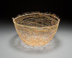 KATE DWYER: Thread Bowl, golden