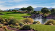 Devil's Claw Golf Course at Whirlwind Golf Club at Wild Horse Pass, in Chandler, AZ, is our beautiful #GolfCourseOfTheDay! | Rock Bottom Golf #RockBottomGolf