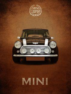 Cool cars classic mini coopers Super ideas Source by Mini Cooper Classic, Classic Mini, Mini Coopers, Mini Cooper Wallpaper, Chevy Sports Cars, Jeep Cars, Car Prints, Bmw Classic Cars, Mini S