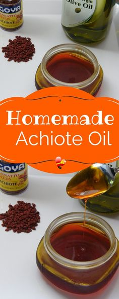Easy homemade achiote oil recipe. Keep unused oil in an air tight jar for up to four days.