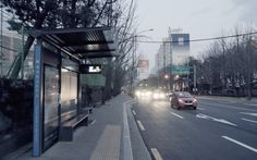 Beholder DS1-Winter Streets Evening, Seoul, KOREA/서울 강동 고덕동/GH4