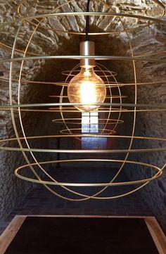 Fambuena Sphere Pendant Light Light Bulb, Lighting, Pendant, Design, Home Decor, Decoration Home, Room Decor, Hang Tags, Lights