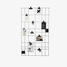 Vtwonen memo board 60 x 105 cm - magnetic. Hang your cheerfulest quotes, important shopping list or sweetest photos on the vtwonen memo board. Memo Boards, My New Room, My Room, Magnetic Memo Board, H & M Home, Interior Styling, Home And Living, Room Inspiration, Home Accessories