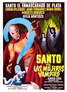 Santo vs Las Mujeres Vampiro   -Old School rules!!!
