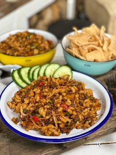 Asian Recipes, Healthy Recipes, Ethnic Recipes, Fried Macaroni, Caribbean Recipes, Pesto Pasta, How To Cook Pasta, Food Hacks, Food Inspiration