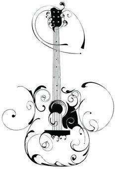 2387 best guitar related bits images in 2019 guitar guitar picks SG Guitar Mods guitar swirl design guitar drawing guitar art acoustic guitar tattoo guitar doodle