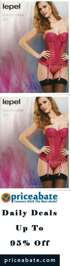 #priceabatedeals Rare Sexy Busty Girl British Lepel Lingerie Catalog Model Long Legs Autumn 2011 - Buy This Item Now For Only: $24.99