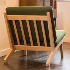 GE 370 Low Chair By Hans J. Wegner 5