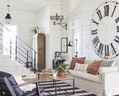 magnolia homes joanna gaines A lot of life has unfolded under our roof in the six years weve called the farmhouse home. Recently, I caught myself looking around and realizin Home Decor Styles, Farmhouse Dining, Farmhouse Decor Living Room, Farm House Living Room, Home, Joanna Gaines Living Room, Home Remodeling, Farmhouse Interior, Living Decor