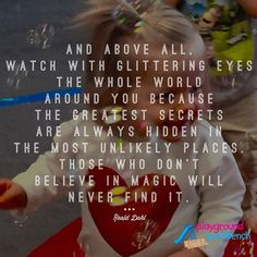 The world through the 'glittering eyes' of a child is truly magical! #kidsneedplay #kidbloggersofIG