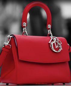 Authentic Designer Handbags As A Gift - Dior Purse - Ideas of Dior Purse - Dior-Marie Mimrandeep red handbag Dior Purses, Dior Handbags, Fashion Handbags, Fashion Bags, Leather Handbags, Designer Handbags, Leather Purses, Celine Handbags, Stylish Handbags