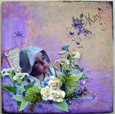 May 1st layout challenge..... on Get Creative - Scrapbook.com