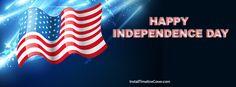 Independence Day Flag Stars Facebook Cover InstallTimelineCover.com