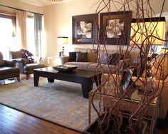 Transitional living room makeover   contemporary   living room   calgary    Rochelle LD Zemlak   Rochelle Lynne Design lee likesGorgeous Woodlands Reserve home features warm and inviting  . Transitional Design Living Room. Home Design Ideas