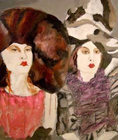 Big Hat Series...artist Sandy Welch