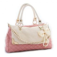 f024ecb299c  20.63 Casual Women s Tote With PU Leather and Bow Faux Pearls Design  Wholesale Bags, Wholesale