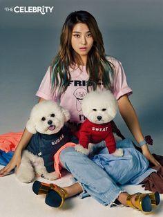 Sistar Bora - The Celebrity Magazine April Issue... - Korean Magazine Lovers