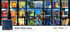 Rainbow book display - this would be great for an LGBTQ celebration/display