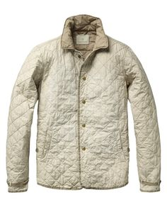 Quilted Shirt Jacket - Scotch & Soda