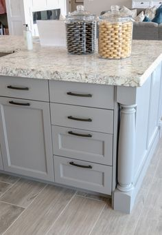 Modern French Country Home Tour Modern French Country, French Country Furniture, French Country Kitchens, French Country Bedrooms, French Country House, French Country Decorating, Country Bathrooms, Country Blue, Painted Kitchen Island