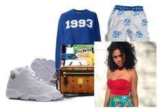 """""""Nyjae"""" by baby-trilldolls ❤ liked on Polyvore featuring MSGM"""