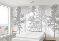 min stil: Natur på veggen