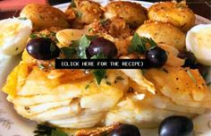 How to make Portuguese fried cod.