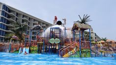 Splash Jungle Waterpark (small water park for kids) - Thalang District, Thailand