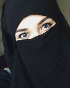 Ideas Bridal Veil Hijab Beautiful For 2019 Hijab Niqab, Muslim Hijab, Mode Hijab, Niqab Eyes, Beautiful Muslim Women, Beautiful Hijab, Beautiful Eyes, Arab Girls Hijab, Muslim Girls