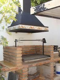 Resultado de imagen para diseño de parrillas para quinchos Outdoor Bbq Kitchen, Outdoor Grill Area, Patio Grill, Backyard Kitchen, Outdoor Kitchen Design, Bbq Grill, Outdoor Cooking, Backyard Patio, Barbecue Design