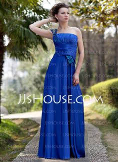 Mother of the Bride Dresses - $148.99 - A-Line/Princess One-Shoulder Floor-Length Charmeuse Sequined Mother of the Bride Dress With Ruffle Beading (008022935) http://jjshouse.com/A-Line-Princess-One-Shoulder-Floor-Length-Charmeuse-Sequined-Mother-Of-The-Bride-Dress-With-Ruffle-Beading-008022935-g22935
