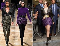 Lady Gaga In Balmain | Never a fan of Lady Gag's wild style but one, is, just, WOW!