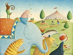 Image result for circus mural