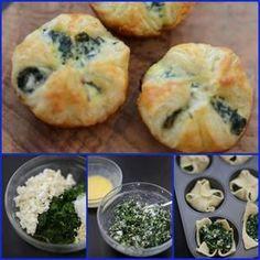 Salatini spinaci e formaggio