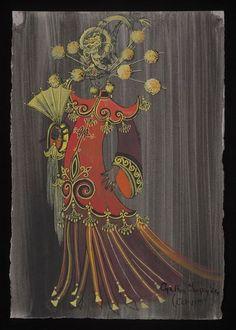 Aladdin and His Wonderful Lamp (Pantomime). London Palladium. Costume design by Cynthia Tingey. 1964