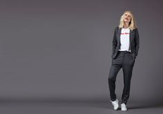 ELINA T-SHIRT ASTA SWEAT PANTS THEA SWEAT BLAZER