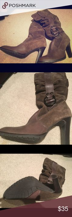 Jessica Simpson boots Worn only a few times. Jessica Simpson Shoes Heeled Boots