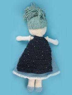 Yarnspirations.com - Lily Winter Princess Lily Doll - Patterns  | Yarnspirations