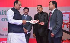 TAFE Motors and Tractors Limited (TMTL) launched its 5/7.5 kVA gensets in Patna as a part of its nation-wide unveiling. The event was attended by distinguished personalities such as the Hon'ble Minister of Education - Bihar, Mr. Virshen Patel and the State Secretary of BJP, Mr. Dhirender Singh.  To read more and view pictures on TAFE Cafe, click the image. tafe.com | tafecafe.org