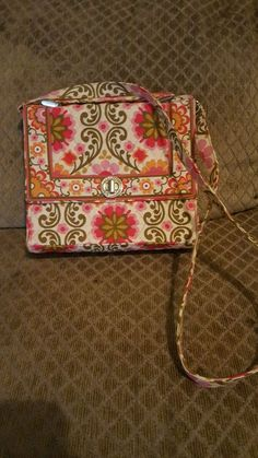 Used Vera Bradley Handbag  | Clothing, Shoes & Accessories, Unisex Clothing, Shoes & Accs, Unisex Accessories | eBay!