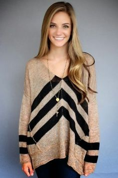 Free people  Taupe black twelve roses oversized pullover for fall 6fd24c299