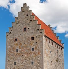 Glimmingehus - medeival castle (15th century) in Österlen, Skåne, Sweden