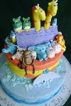 Noah's Ark A Cake In Time - Custom Cakes For Special Events - Weddings & Showers