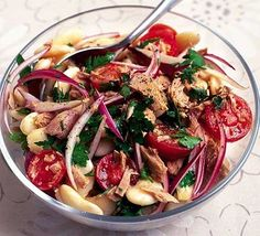 Tuna & butterbean salad
