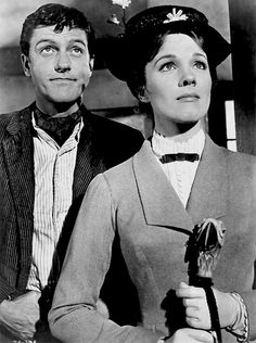 "Dick Van Dyke and Julie Andrews  ""Mary Poppins"""
