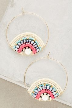 Anthropologie x Kui Co. Tasha Hoops