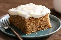 Ginger-Applesauce Cake recipe