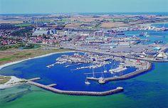 Grenå marina, Denmark