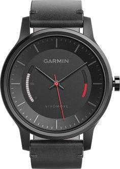 Garmin - vivomove Classic Activity Tracker - Black